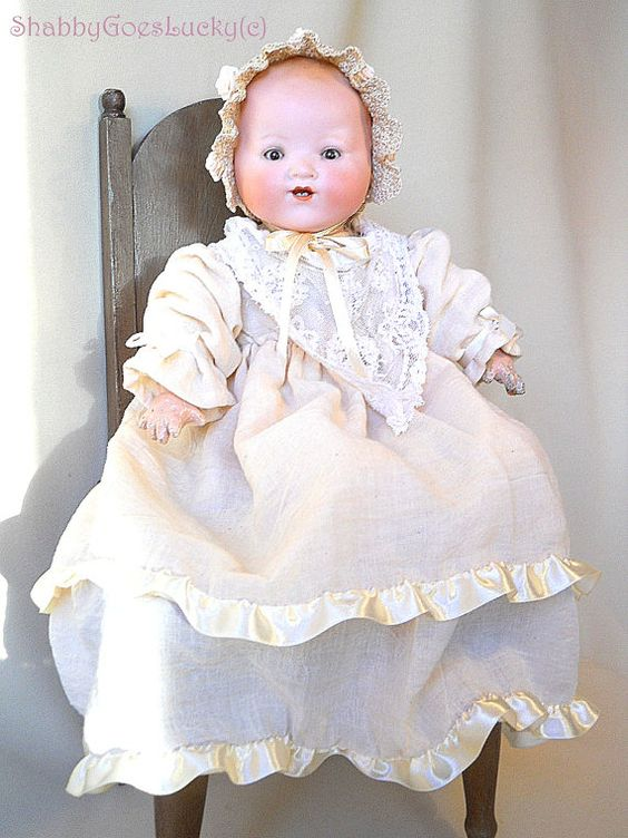 Antique My Dream Baby doll Armand Marseille by ShabbyGoesLucky, €260.00