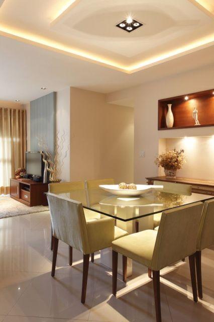 Mesa Quadrada Sala Pequena ~  Image For decoracao arquitetura mesa jantar quadrada sala pequena
