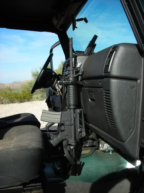 Image Detail For Jeep Rifle Rack Mount Ar15 Com