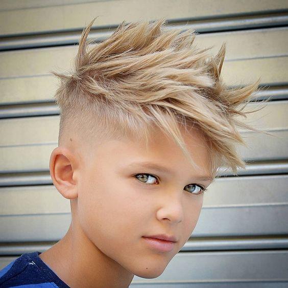 The Spiky Mohawk haircut for boys