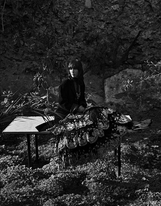 """Jamie Bochert Omslag Vogue Portugal mars 2019, Av Branislav Simoncik Jag """"Bryter Reglerna ...""""  Anne av Carversville"""
