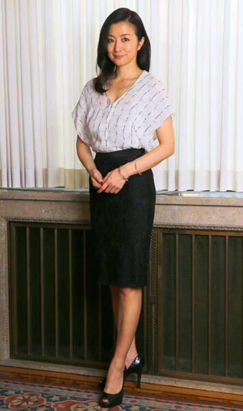 スタイルのいい鈴木京香