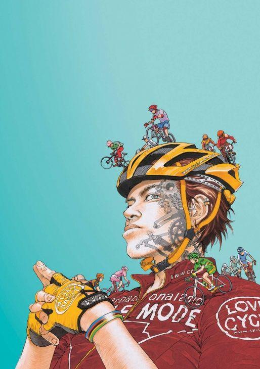 大友克洋による「サイクルモードインターナショナル2011メインビジュアル」)