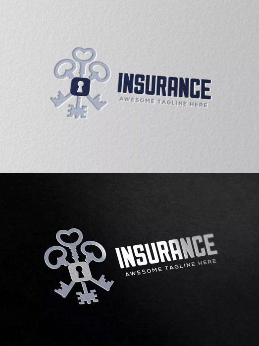 Insurance Logo Template Ai Eps Psd Insurance Insurance Logo