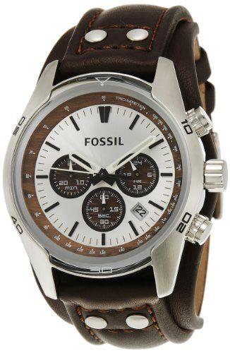 Fossil Men's CH2565 Cuff Chronograph Tan Leather Watch Fossil $110.00 http://www.amazon.com/dp/B001SQLI9C/ref=cm_sw_r_pi_dp_3d9Ntb114F8PTJXK bookmark us please at www.webshoppingmasters.com/salter3811