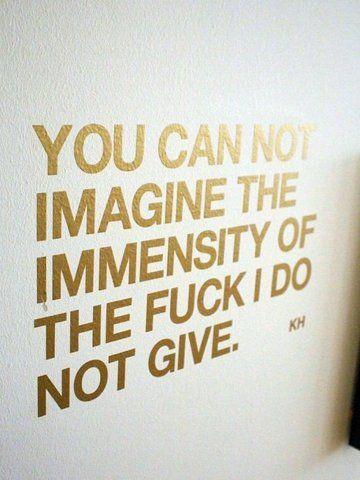 immensity...