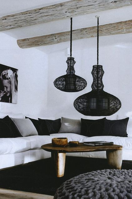 love the pouf asian inspired lighting and the african table asian inspired lighting