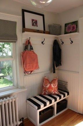 Cute little entry corner.