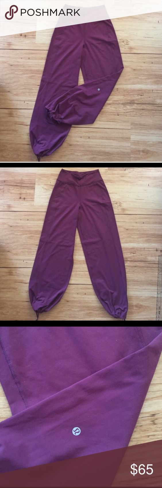 Lululemon full length gaucho pants