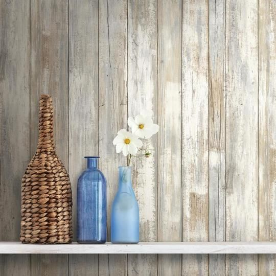 Distressed Wood Peel And Stick Wallpaper How To Distress Wood Distressed Wood Wallpaper Wood Wallpaper