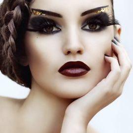 Editorial bold beautiful makeup