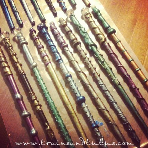 Diy wands all things harry potter pinterest wands for Wizard wand