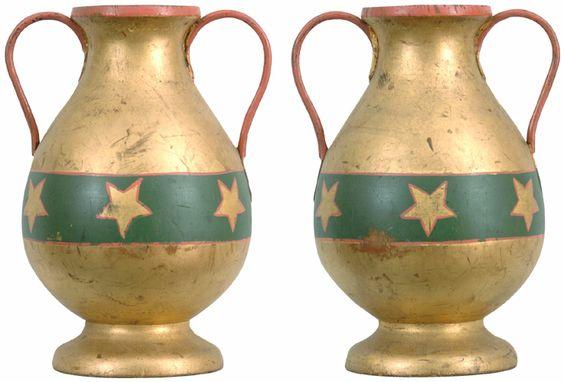 rebekah urn, independent order of odd fellows teaching tool, 19c.