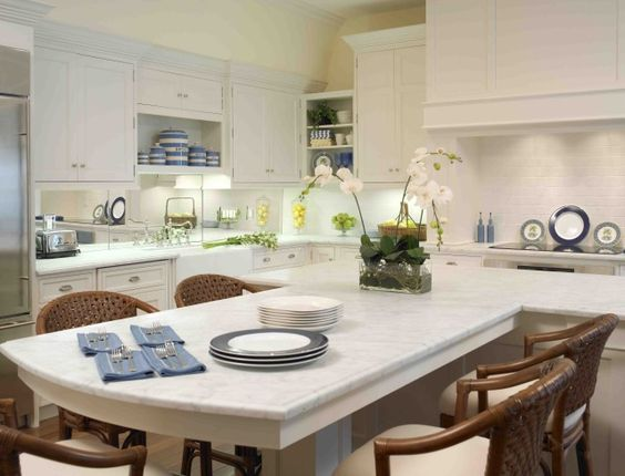beautiful islands and white counters on pinterest