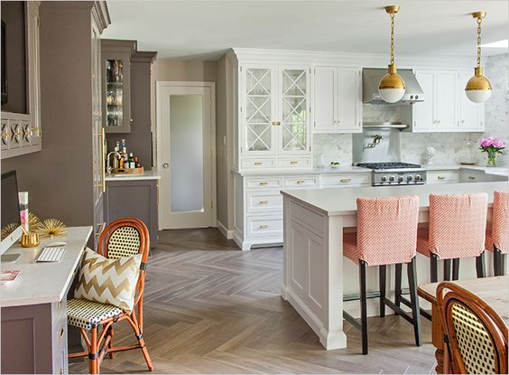 Best Kitchen Design By Caitlin Wilson White And Grey Cabinets 400 x 300