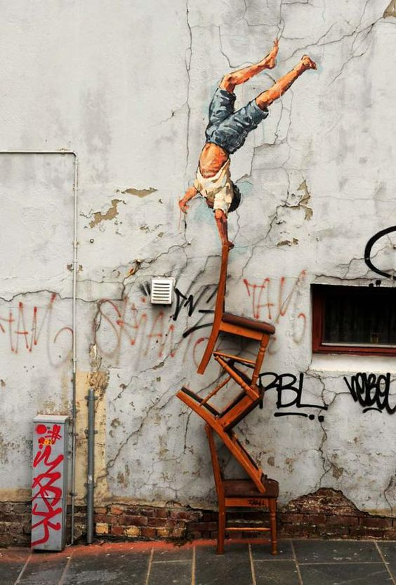 Street Art by Ernest Zacharevic: