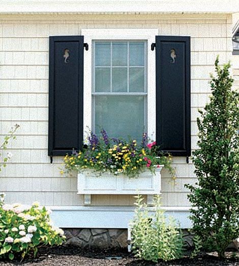 bungalow shutters | ... Exteriors » Millwork and Shutters » Storybook and Classic Shutters