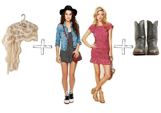 Trend: Mixing Vintage  http://blog.freepeople.com/2012/03/trend-mixing-vintage/