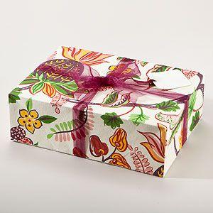 Indonesian Fruit Fabric Gift Box Set at Cost Plus World Market
