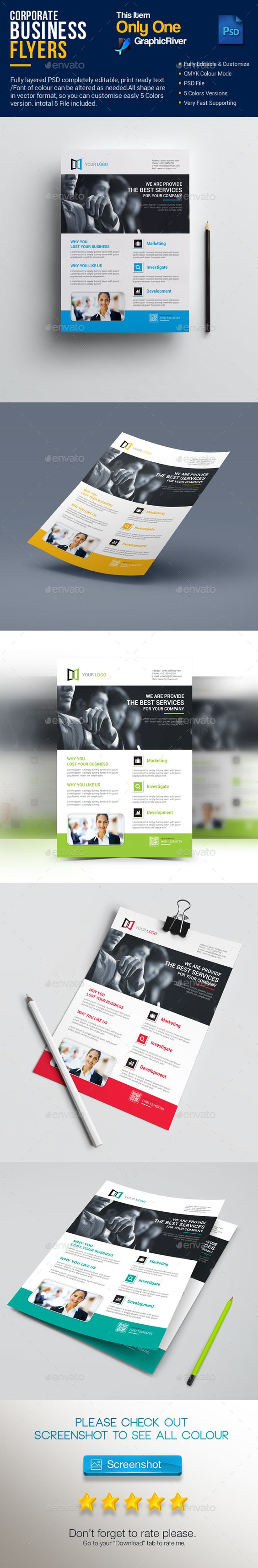 corporate business flyer design template corporate flyers design corporate business flyer design template corporate flyers design template vector eps ai illustrator