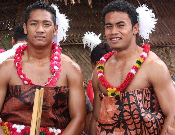 Two Tongan Men