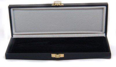 Foderi e Custodie : Scatola nera per coltelli cm 21x7