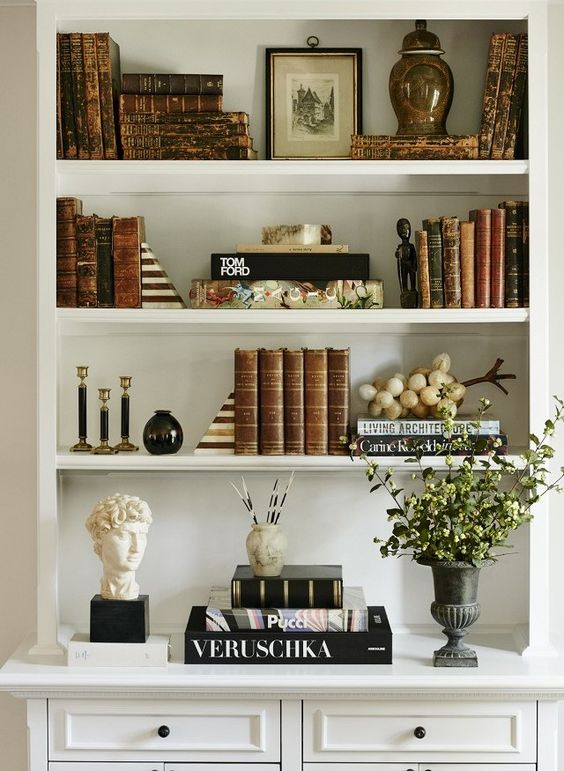 shelf styling inspiration @aliciamlund