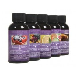 - For Use with Oil Warmer or to Refresh Potpourri- Highly Fragrant Formula- Set of Five Assorted Fragrances- Hawaiian Mist, Cranberry Mandarin, Sugared Berries, Lemon Verbena, Tropical Citrus Tango
