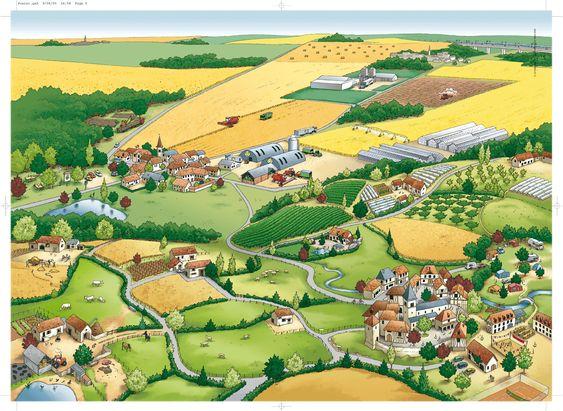 Les paysages ruraux (Stef).