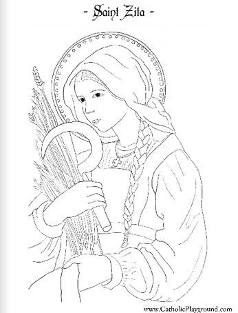 Catholic Coloring Pages Activity - Worksheet & Coloring Pages
