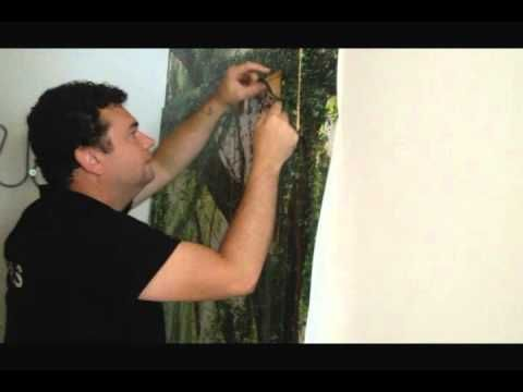 SOFDrètols Decoración de pared con vinilo impreso - YouTube