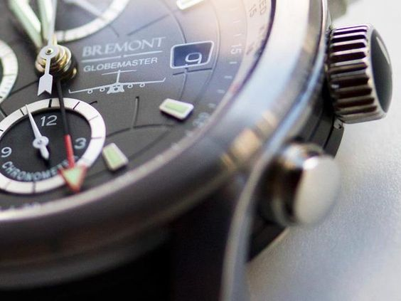 Bremont C-17 grey with red