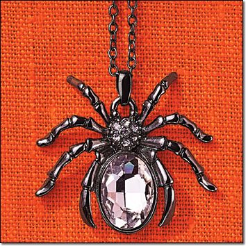 Sparkling Spider Collection Necklace