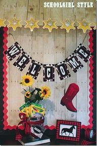 western themed classroom bulletin boards - Google Search