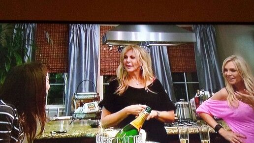 Watching #RHOC and really liked Heather's curtains.