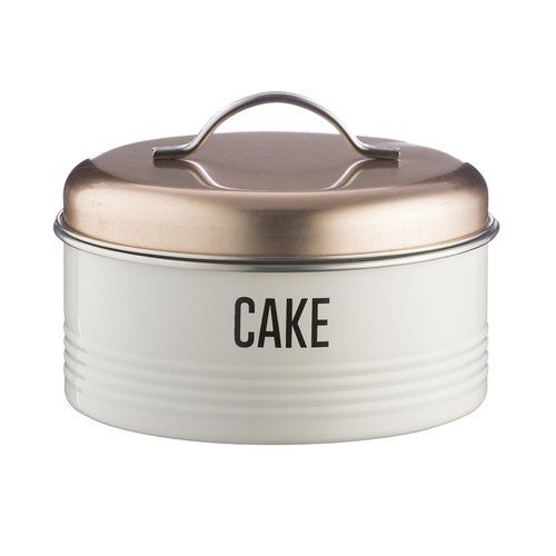 Vintage Copper Cake Tin Typhoon With