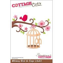 @Overstock - COTTAGE CUTZ: Cottage Cutz Dies. With design styles that are adorable; fun and whimsical; and elegant these universal wafer-thin dies make a great addition to your paper crafting supplies. Cut shapes out of paper; cardstock; vinyl; vellum and more.http://www.overstock.com/Crafts-Sewing/CottageCutz-Die-4-X6-Whimsy-Bird-Cage/6799257/product.html?CID=214117 $19.99