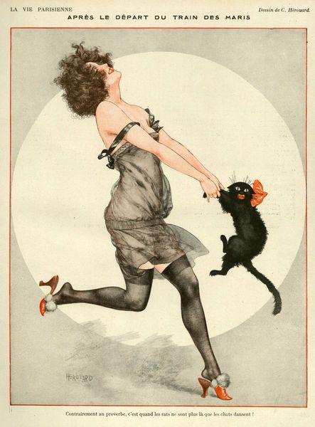 La Vie Parisienne 1923 By Chéri Hérouard