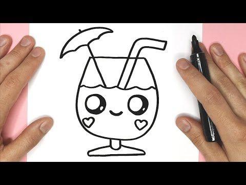 تعليم الرسم طريقة رسم كأس عصير رسم كوب عصير رسم سهل Easy Drawings Youtube Peace Gesture Peace