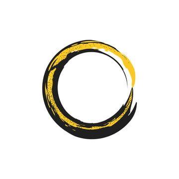 Circle Black Gold Wind Background In 2020 Gold Circle Frames Golden Texture Frame Border Design