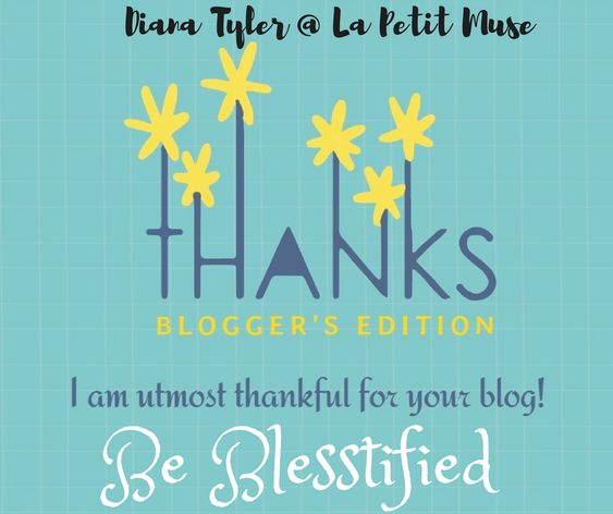 Thankful Thursday: Blogger's edition #6