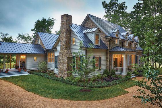 Inside look 2015 southern living idea house with bunny Virginia farmhouse plans