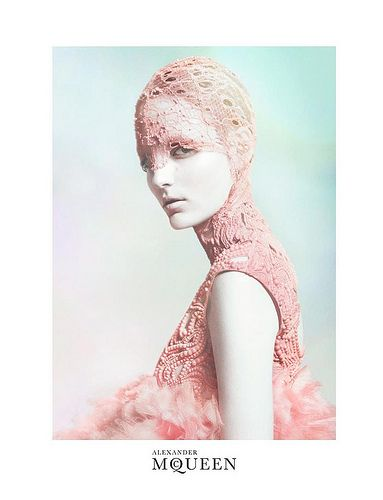 Zuzanna Bijoch for Alexander McQueen Spring 2012 Campaign - Photographed by David Sims | by Winter Phoenix