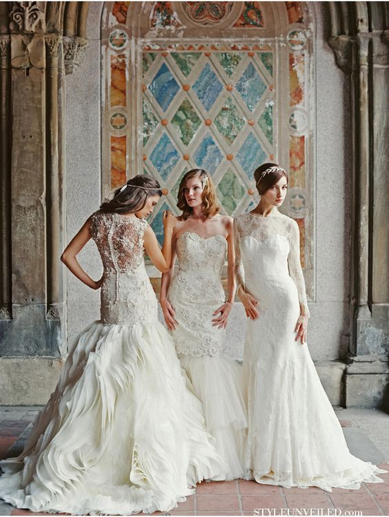 Sareh Nouri Bridal Couture / Laura Gordon Photography / via StyleUnveiled.com