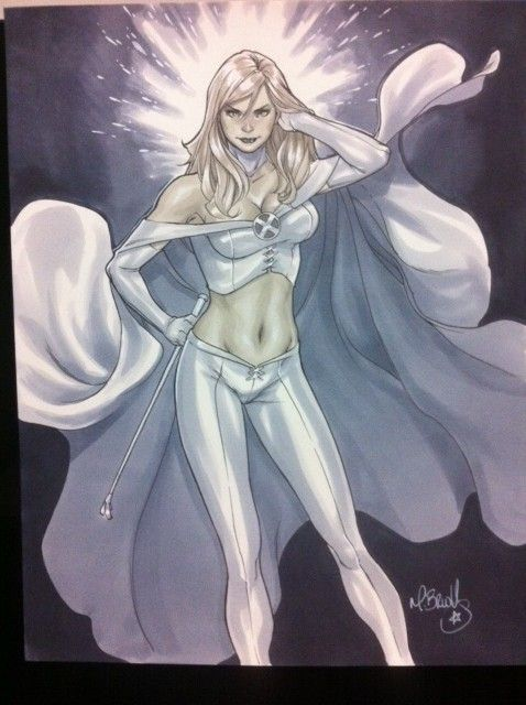 Emma Frost by Mark Brooks