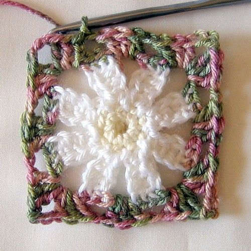 Ooooo...I could do a granny square blanket made up entirely of ...