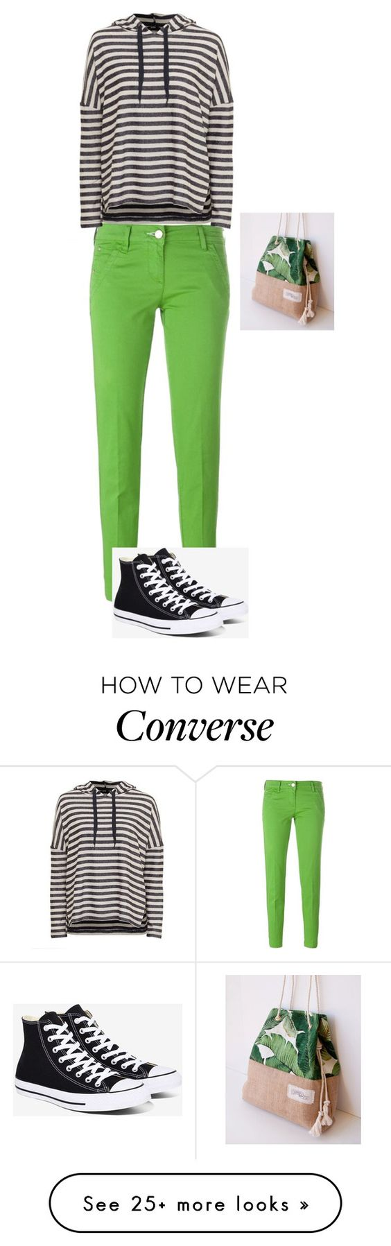 """""""women"""" by merisa-imsirovic on Polyvore featuring Jacob Cohёn, Converse and Green Banana"""