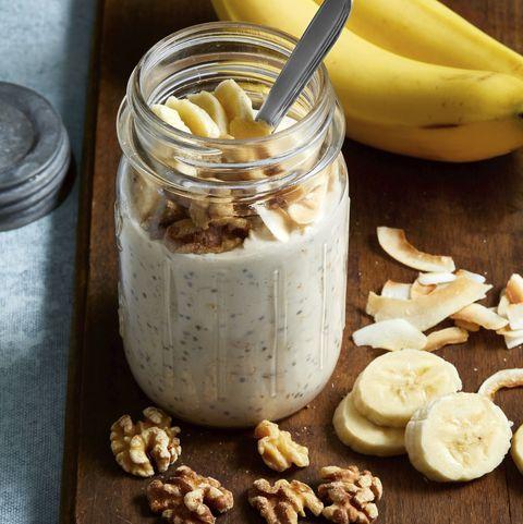Banana Cream Pie Overnight Oats Recipe In 2020 Banana Cream Pie Kid Friendly Recipes Breakfast Overnight Oats Recipe Healthy