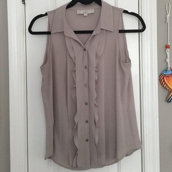 Adorable loft blouse Adorable loft blouse. No trades! No PayPal! LOFT Tops Blouses