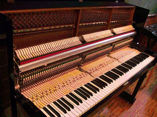 Interior Piano Vertical Piano